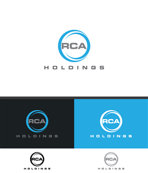 Logo Design by Bluemedia - Logo for RCA Holdings, a holding entity for ser...