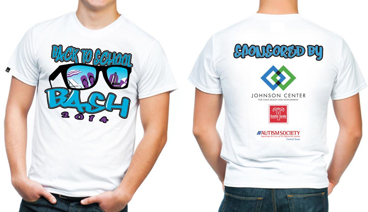 Design t shirt back - T Shirt Design By Creative50 For 2014 Back To School Bash Design 4462949