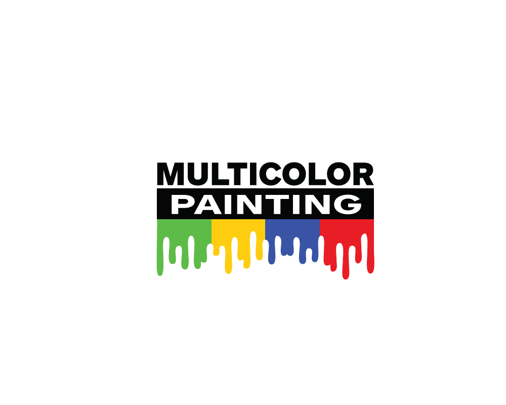 Residential Logo Design For Multicolor Painting By Wall Jamboree