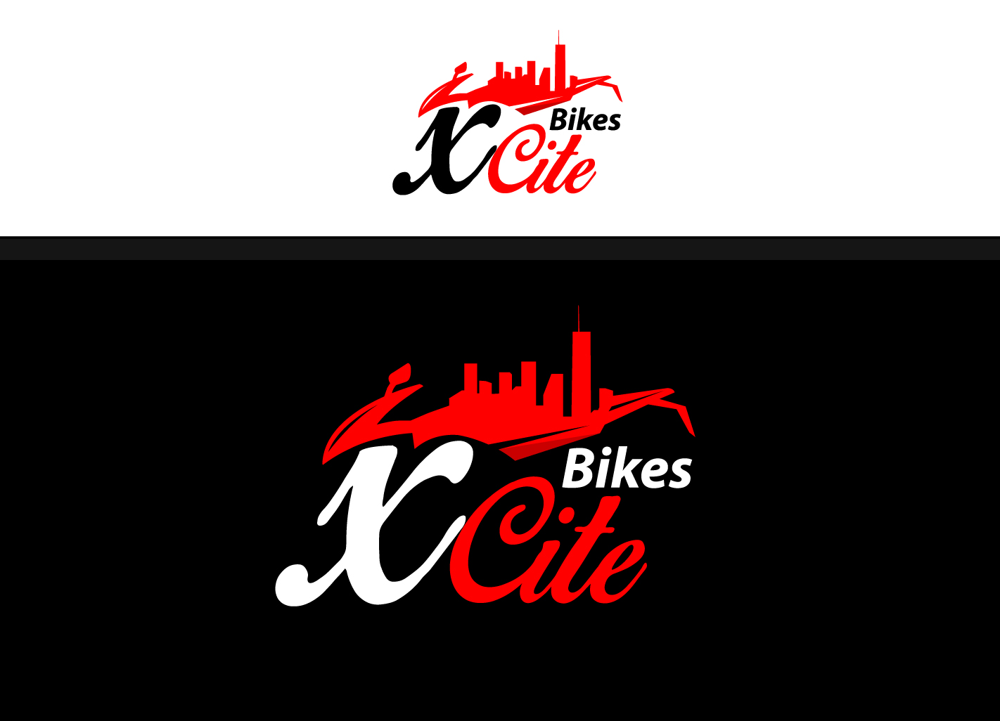 Bold Modern Motorcycle Part Logo Design For Xcite Bikes By Creative Bugs Design 11574156