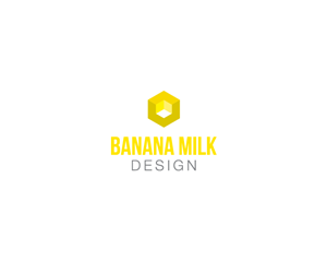 Logo Design by EllaMaya - Banana Milk Design
