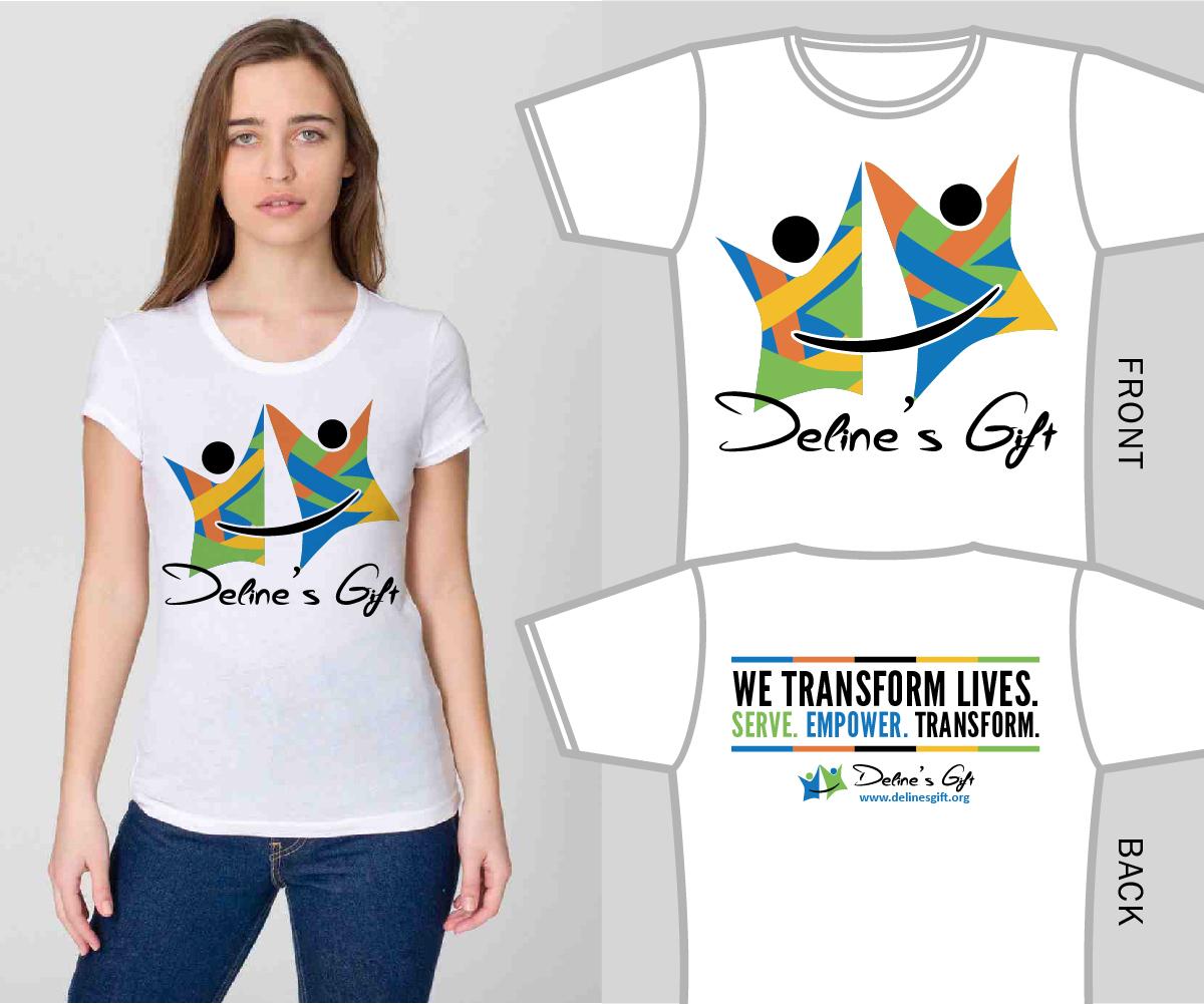 Personable Bold Non Profit T Shirt Design For A Company