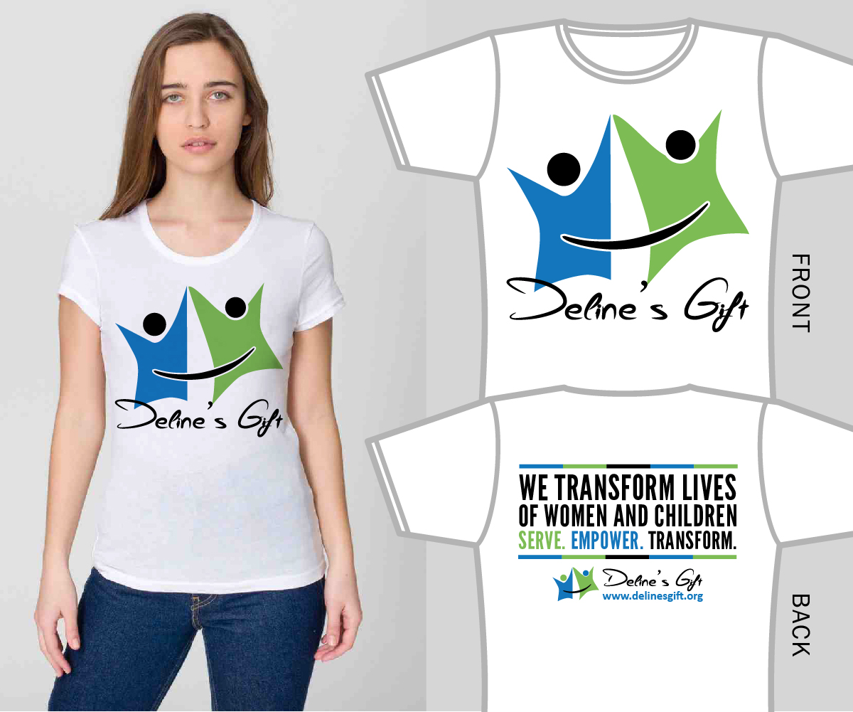 Personable bold non profit t shirt design for a company for Non profit t shirt design