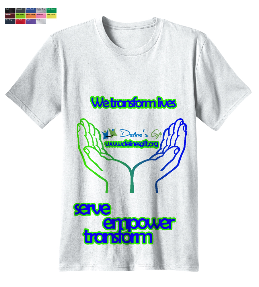 Personable bold non profit t shirt design for a company for Non profit t shirts