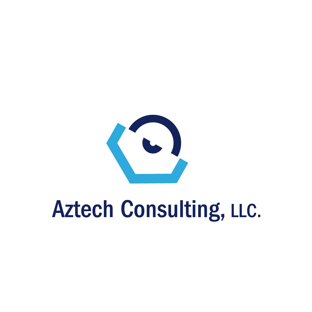 Consulting logo design for aztech consulting llc by for Consulting logo design