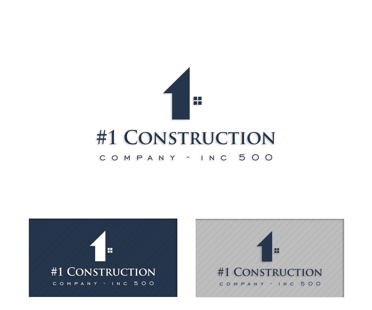 Modern, Masculine, Construction Logo Design for #1