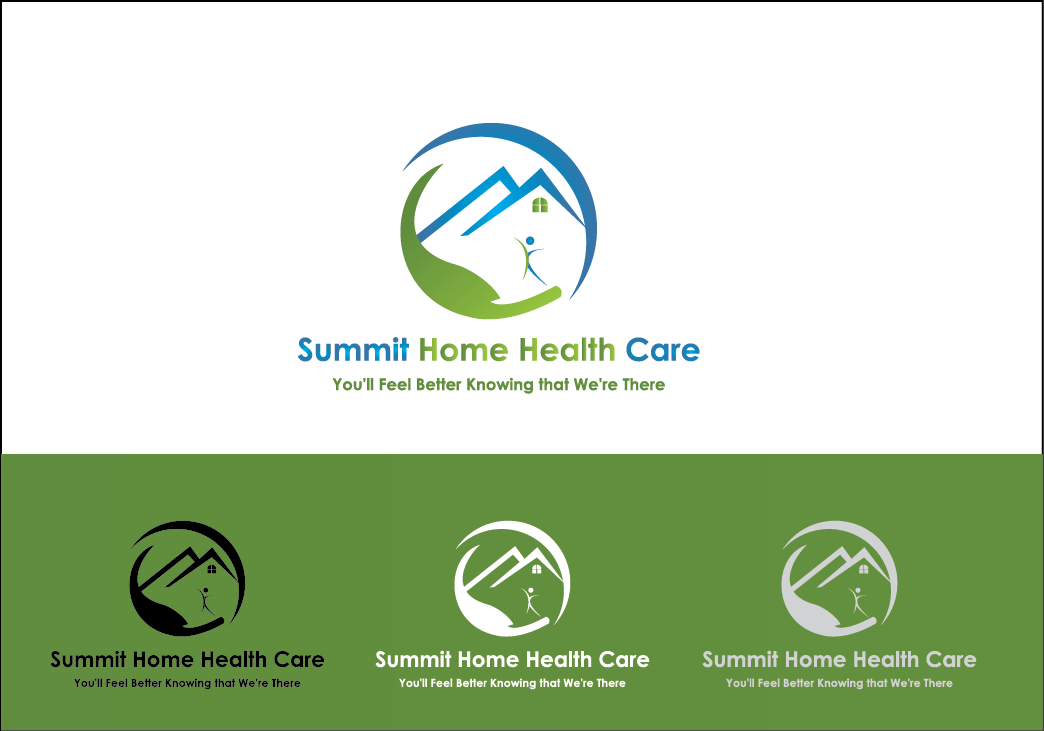 Home Health Care Logo Design For Summit Home Health Care Optional Slogan You 39 Ll Feel Better