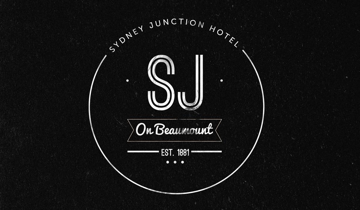 Sydney Junction Hotel logo by Atlas