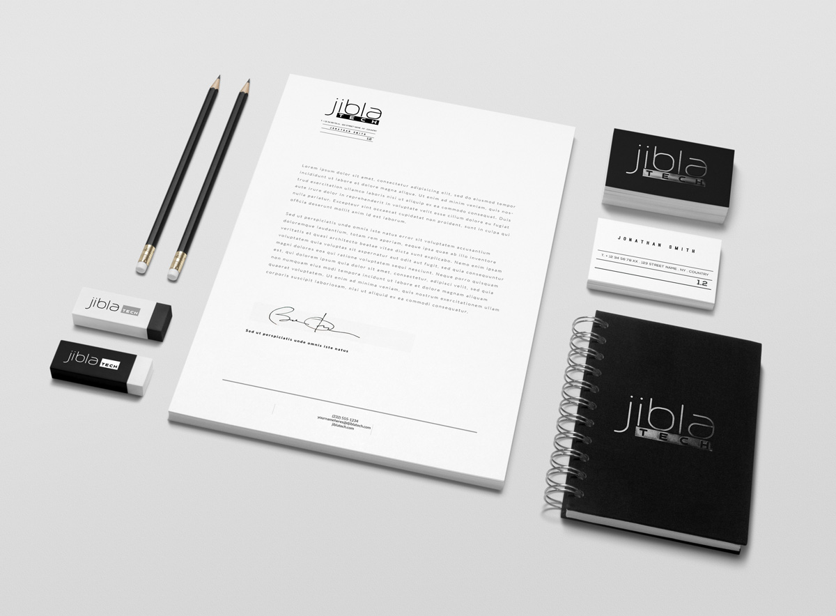 Serious, Professional, Conservative Stationery Design for a Company