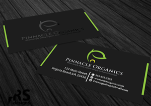 Business Card Design by RS designs - Bus Card for Organic Hydroponic Produce company