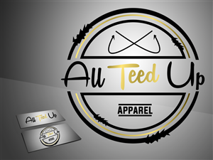 Logo Design for All Teed Up by ZanderGFX