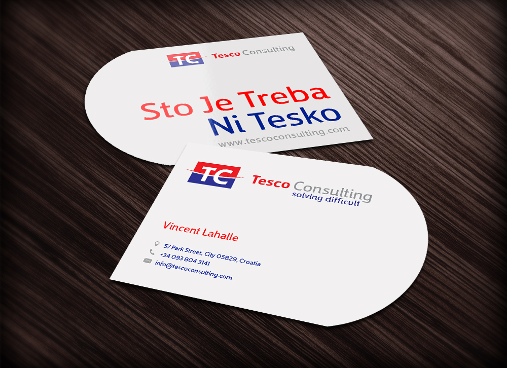 Business Card Design for a Company by yuliusstar | Design #4497110