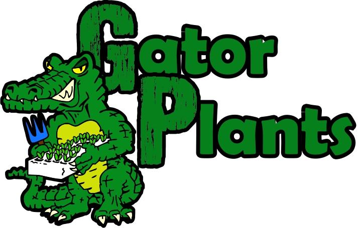 Gator Plants logo design by ChrisMoon
