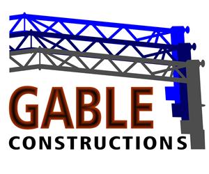Logo Design by Tony Logue Marketing - Gable Constructions Logo Design Project