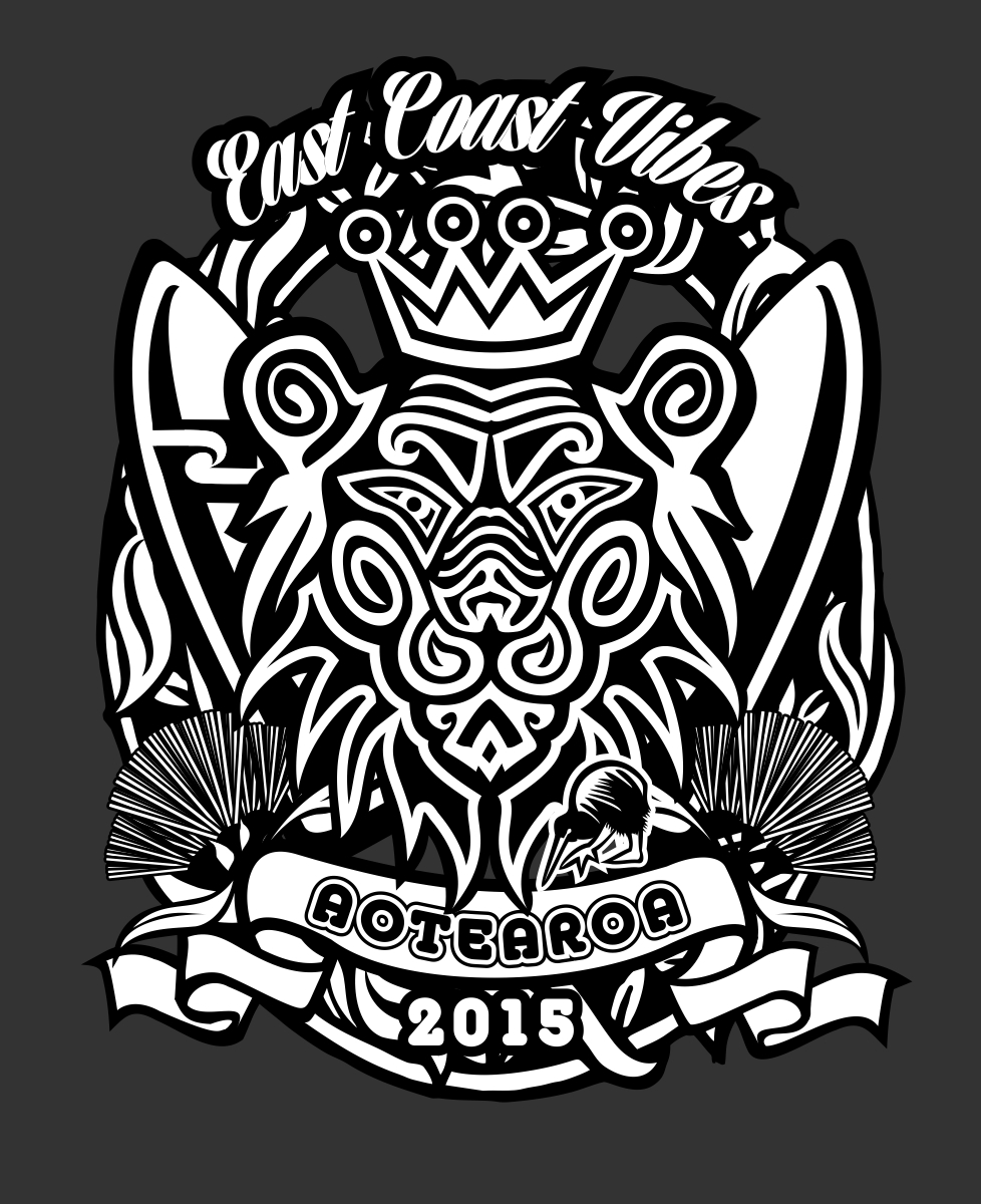 T shirt design new zealand