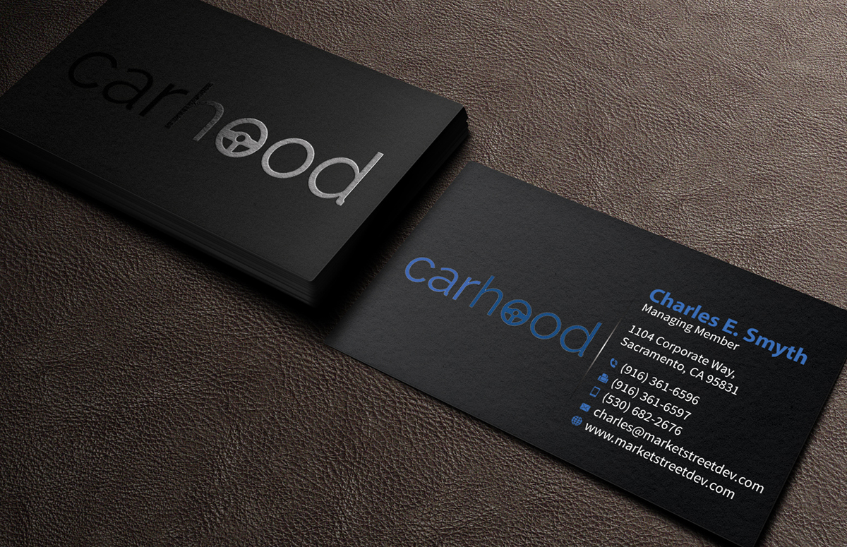 Playful modern business card design for steve by business card design by mediaproductionart for peer to peer car rental business needs a magicingreecefo Gallery