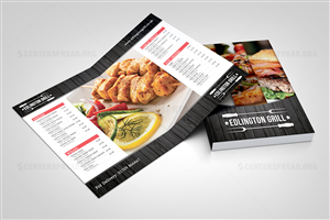 Menu Design by CENTERSPREAD