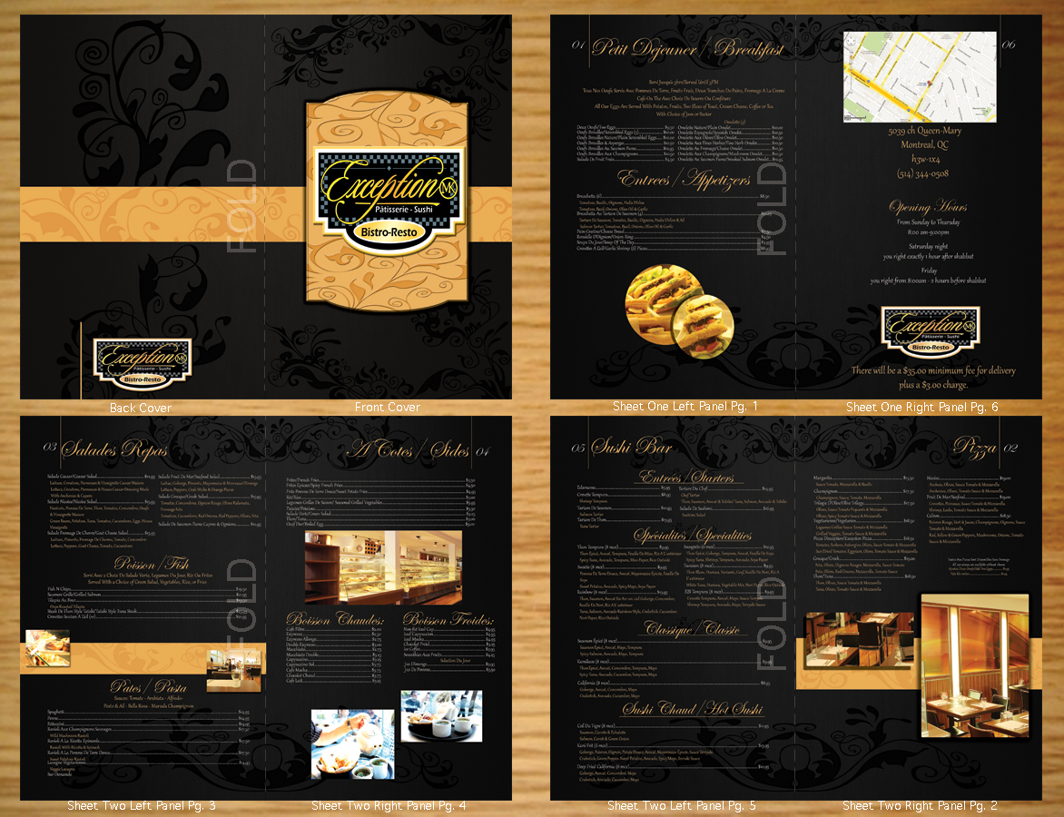 23 elegant menu designs restaurant menu design project for