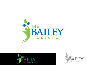 healthcare logo designs for the bailey clinic a healthcare business in