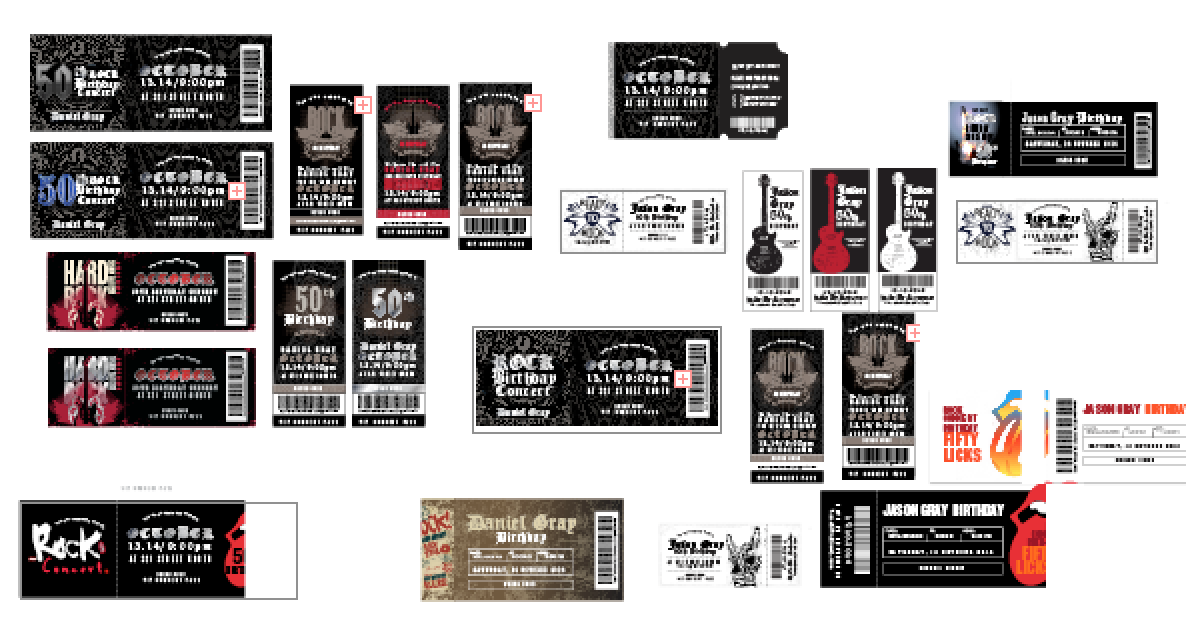 Invitation Design By DC Studio Design For Rock Concert Ticket   Design  #4587583  Concert Ticket Design