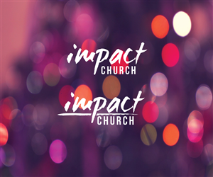 Logo Design by Knockout - Impact Church Logo - Edgy, Contemporary, HIP, S...