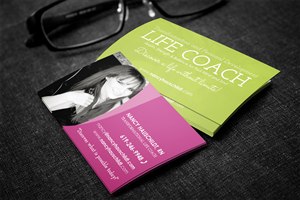 Business Card Design by Creativminds Multimedia - Life and Personal development life coach needs ...
