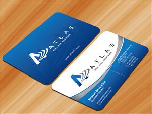 Bold Modern Card design job Card brief for Nicholas