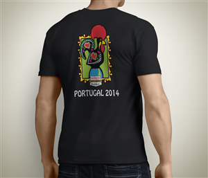 T-shirt Design by JLG Studios - Portugal T-Shirt Design