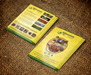 Flyer Design by jeffdefy - Company Flyer for an Organic Grain/Coffee/Cacao...