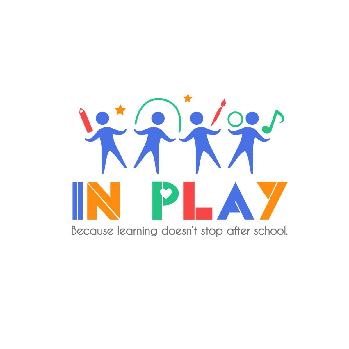 nonprofit logo design for inplay by emily hamnett