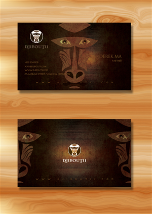 African business card designs african business card design by katrina colourmoves