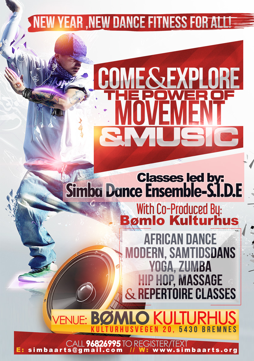 Poster Design By Nextconcept For Simba Dance Ensemble