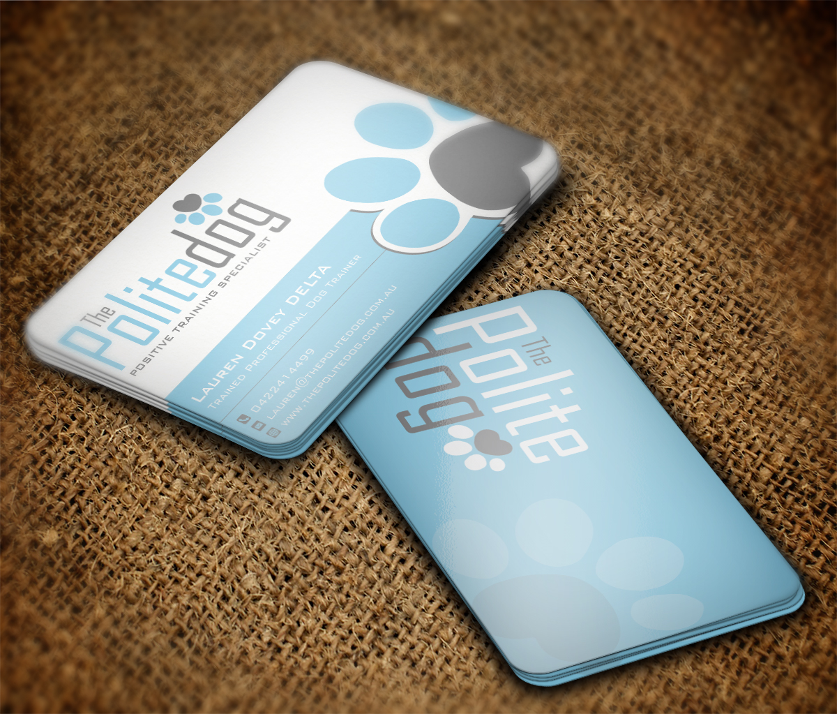 Dog Business Cards Design | Arts - Arts