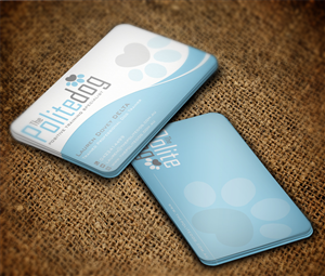 76 serious business card designs dog training business card design business card design by mt for this project design 4502052 colourmoves