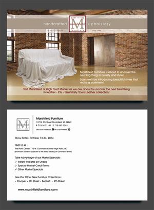 Postcard Design by rkailas - High Point Market Invite October 2014