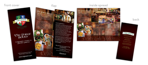 Brochure Design by debbiefitzgerald - Corcoran's Events