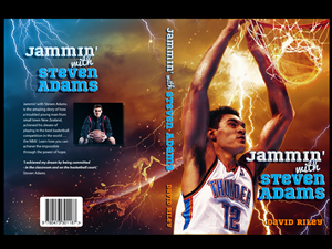 Book Cover Design by joerchw - Jammin' with Steven Adams