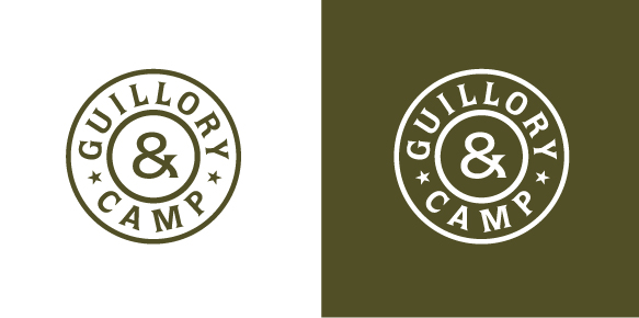 Logo Design by Simple Co. for Guillory&Camp Logo-startup company - Design #196645