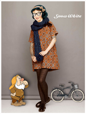 Graphic Design by Rijan - Disney characters get hipster makeover
