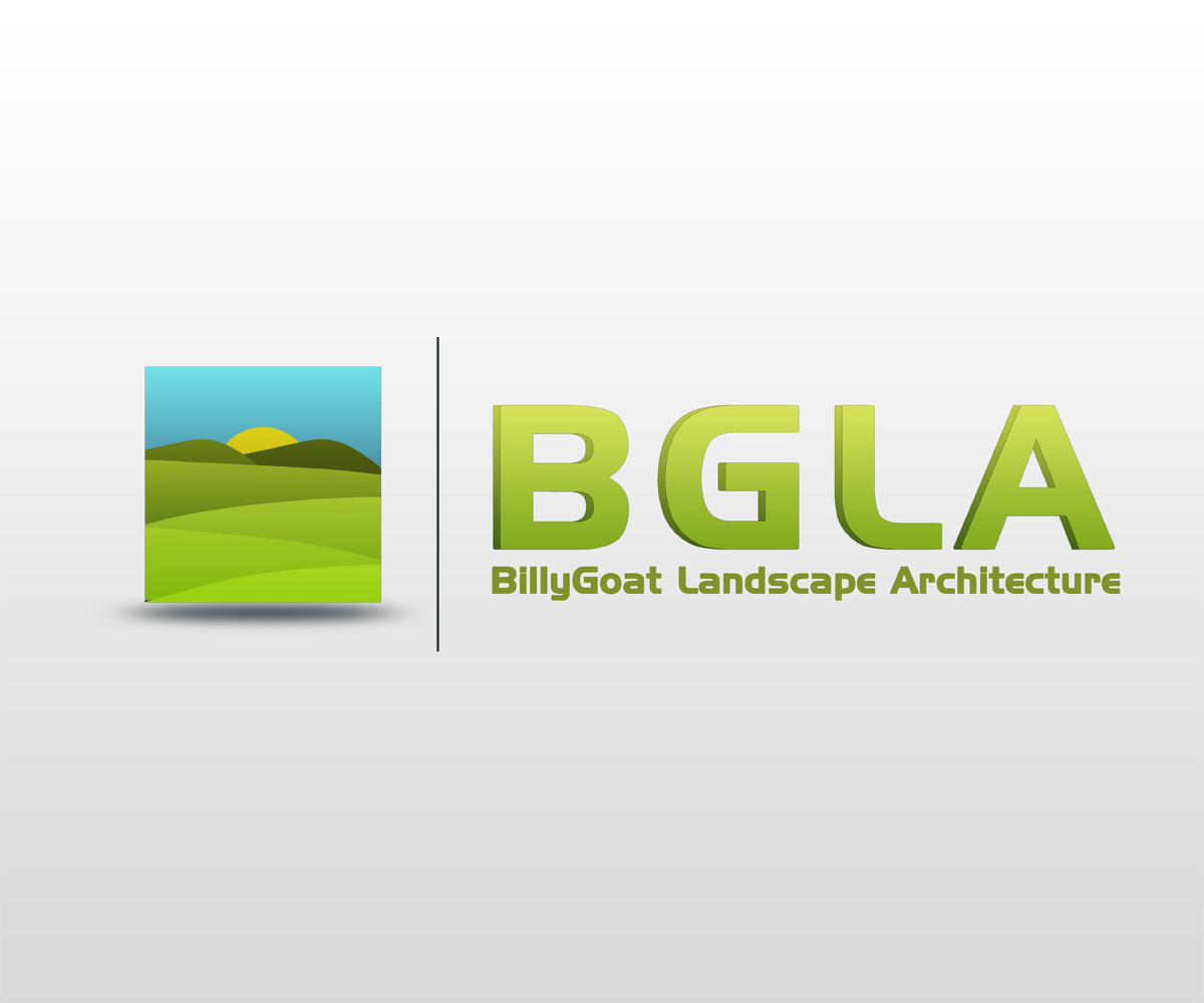 Landscape logo design for bgla by jan mari panol design for Landscaping companies in new zealand