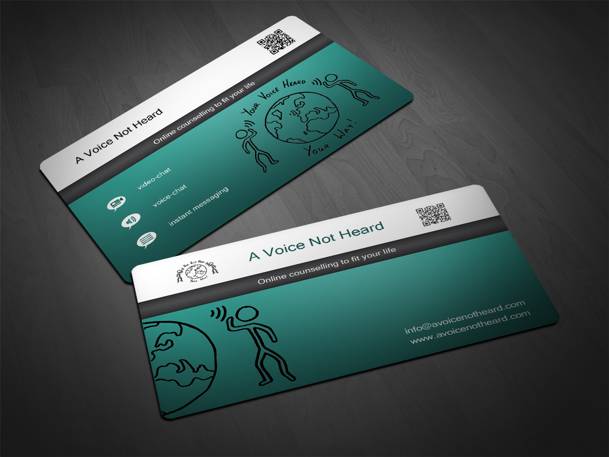 Business Card Design by Scorpius design for Online counselling service - business cards - Design #1294578