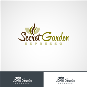 logo design design 4690455 submitted to secret garden cafe needs a new logo