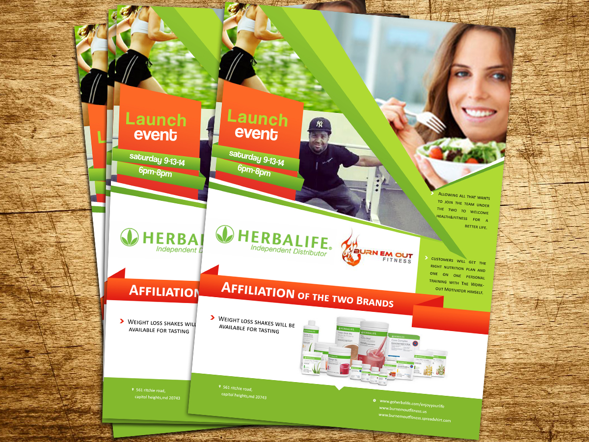 Nutrition Flyer Design Galleries for Inspiration
