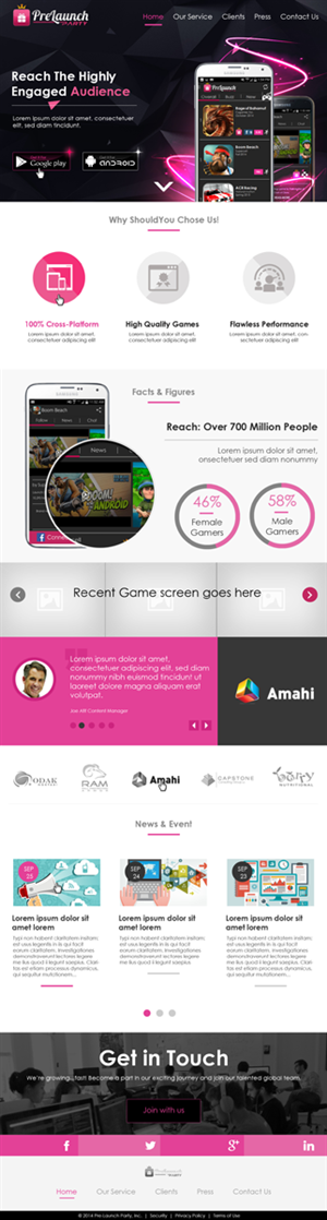 Web Design by Arindam -  Creative 1 page website design with html codin...