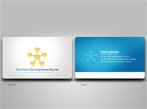 Business Card Design job – Property Development Business Cards – Winning design by disign