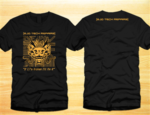 masculine bold digital tshirt design by one day graphic - Company T Shirt Design Ideas
