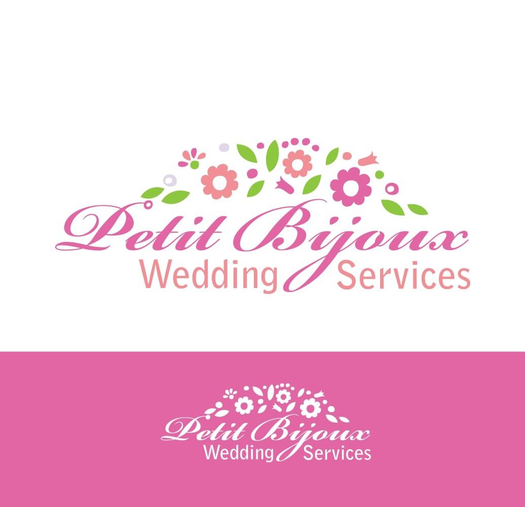 Elegant feminine wedding logo design for petit bijoux wedding logo design by tatjana r for this project design 4506686 junglespirit Gallery