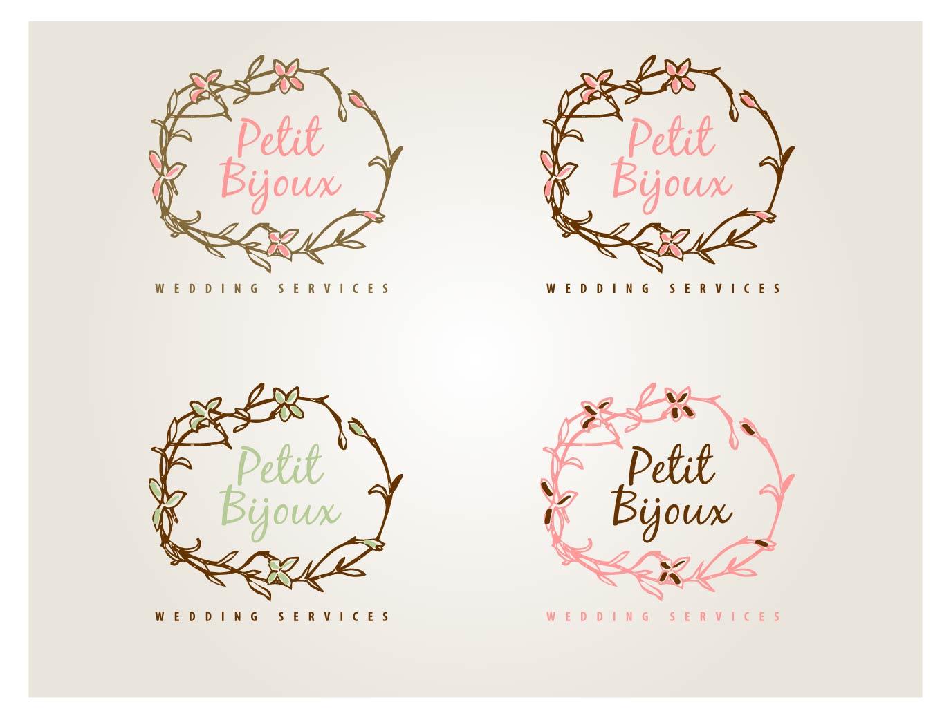 Elegant Feminine Wedding Logo Design For A Company In United Kingdom 4527344