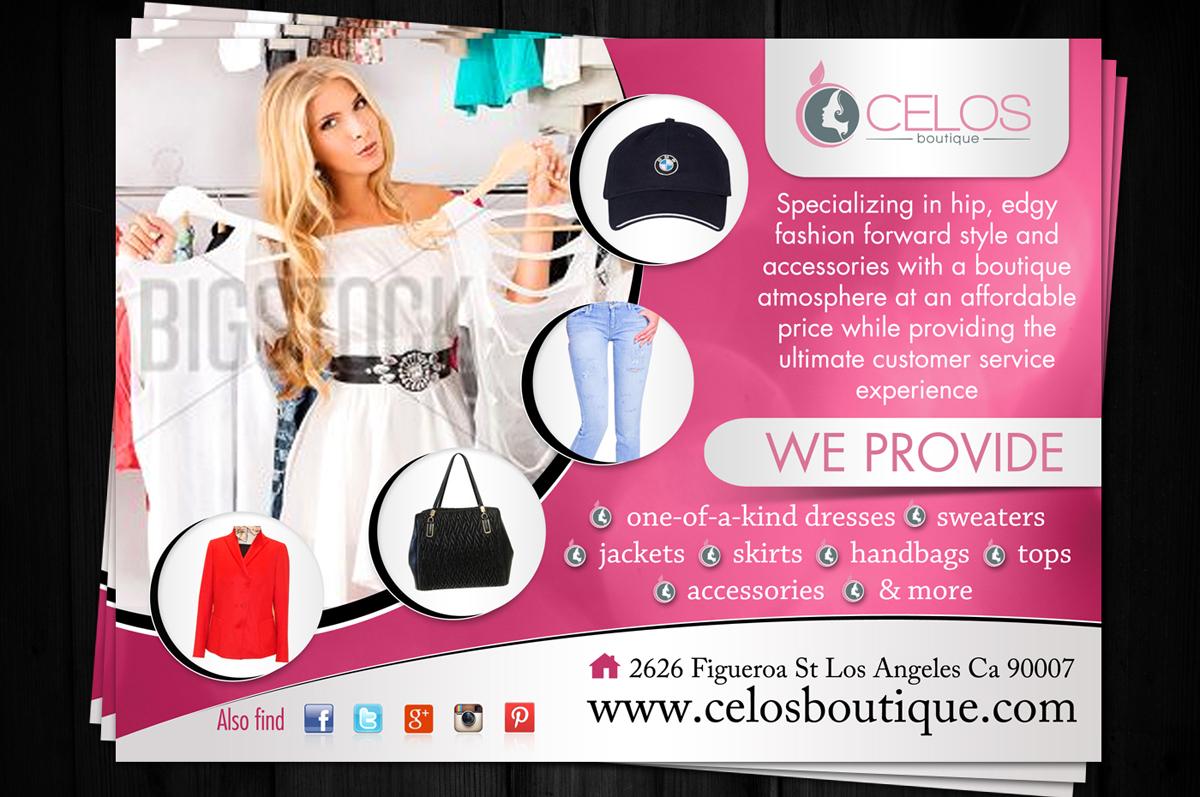 Feminine Modern Flyer Design Design For Perez Trading A