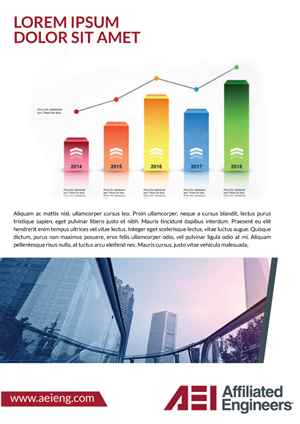 Brochure Design by JCR - Engineering Company Seeking Fresh Look for Broc ...